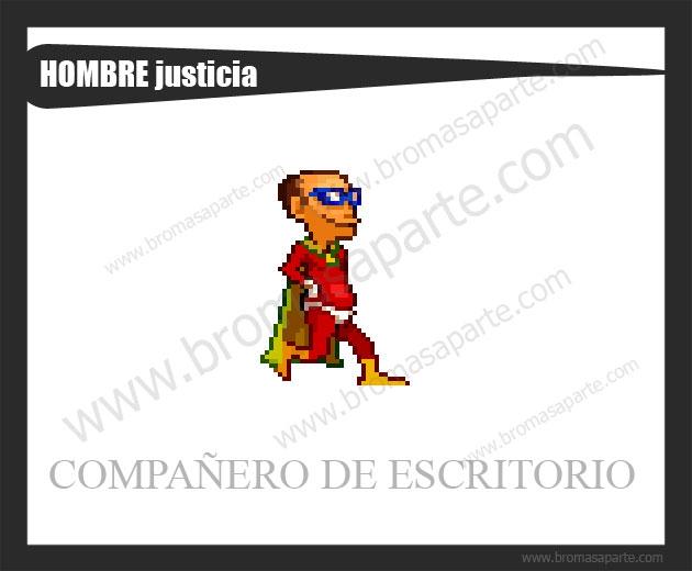 BromasAparte.com - Mascota hombre justicia