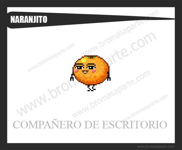 BromasAparte.com - Mascota Naranjito
