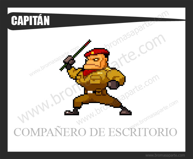 BromasAparte.com - Mascota Capitán
