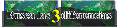 Busca las 3 diferencias