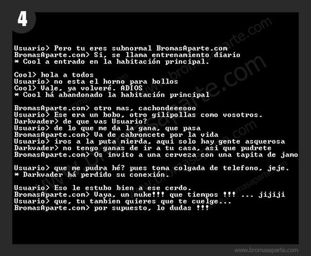 BromasAparte.com - Broma chat