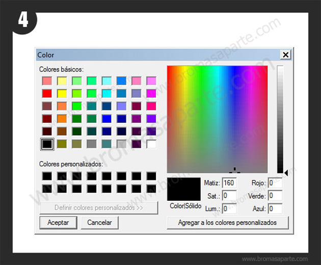 BromasAparte.com - Broma Click interruptor
