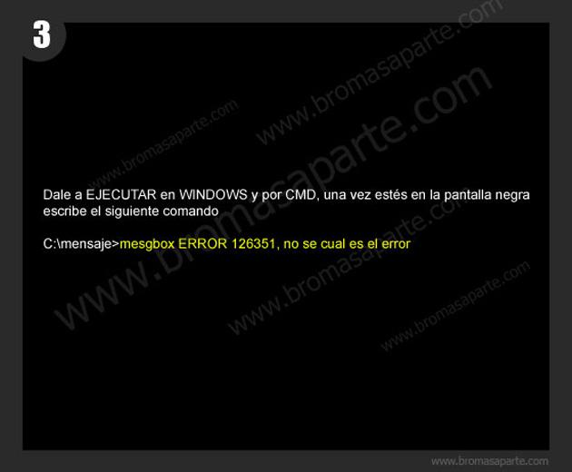 BromasAparte.com - Broma Mensaje oculto