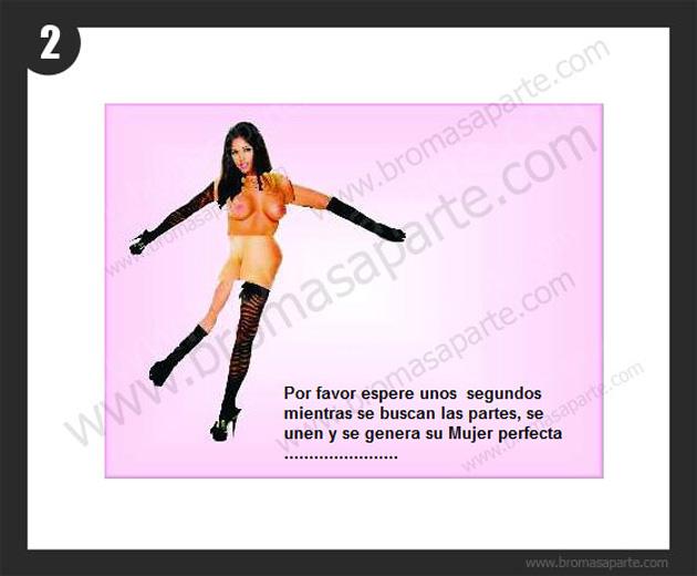 BromasAparte.com - Broma la mujer perfecta