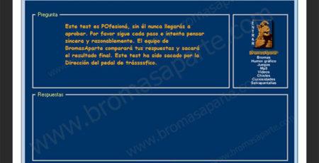 BromasAparte.com - Broma Test de conducir