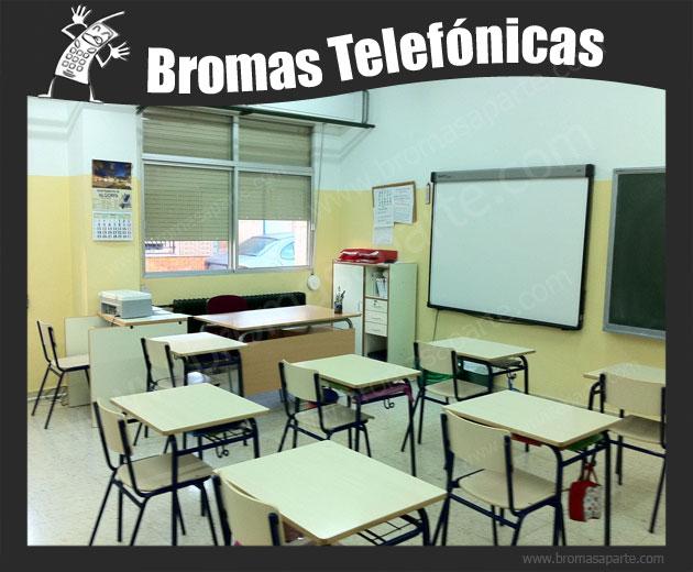 BromasAparte.com - Broma Telefónica clases de matemáticas