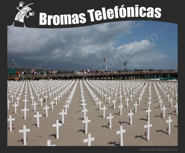 BromasAparte.com - Broma Telefónica Fallecimiento