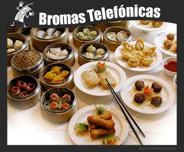 BromasAparte.com - Broma Telefónica restaurante chino