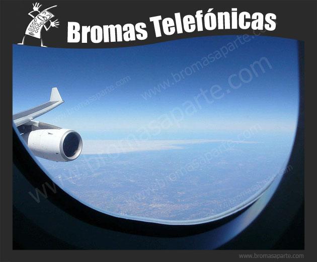 BromasAparte.com - Broma Telefónica vuelo a Mallorca