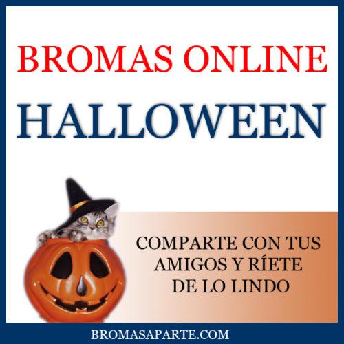 Bromas Halloween