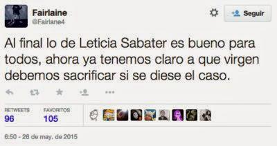 Leticia Sabater meme himen 2