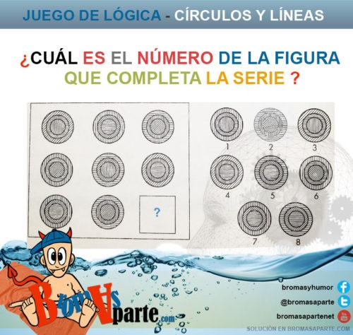Juego de circulos y lineas