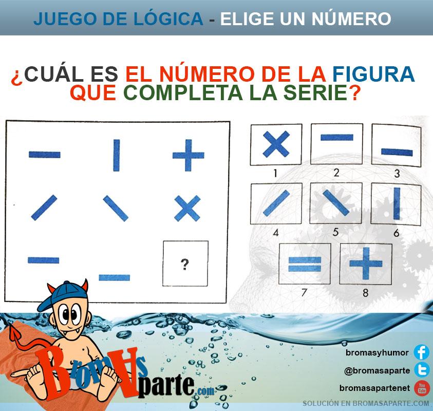 juego de elige numero figura