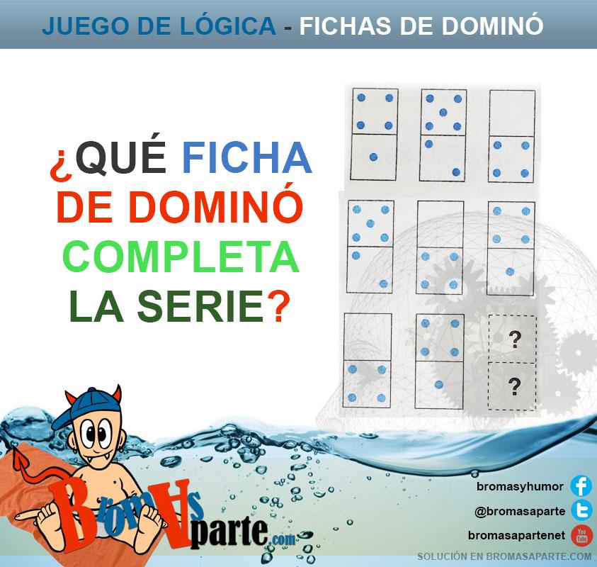 Juego de las fichas de domin for Fichas de domino