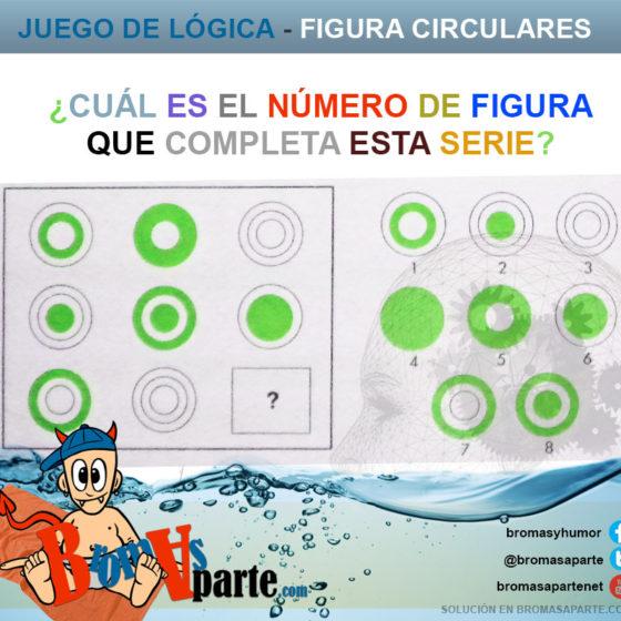 Juego de figuras circulares