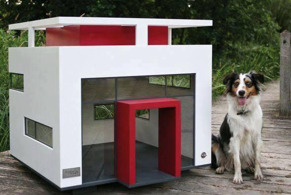 Casetas para perros y mascotas espectaculares for Casetas para perros aki
