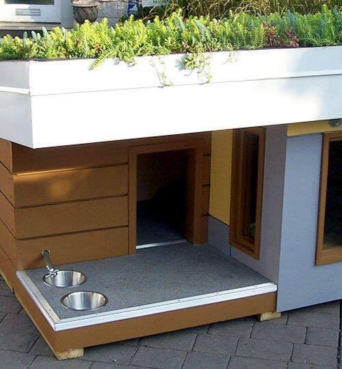 Casetas para perros y mascotas espectaculares - Trasteros de madera para jardin ...