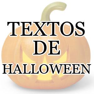 Textos de Halloween